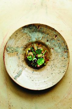 Abalone -- from the Restaurant at Meadowood. My story on Christopher Kostow.
