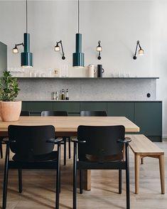 """817 Me gusta, 10 comentarios - Talitha   ZWEI Design (@zweidesign) en Instagram: """"My kind of kitchen"""""""