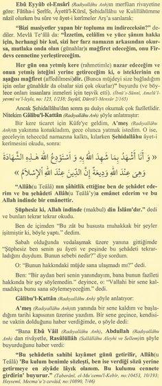 5 Vakit Namazdan Sonra Fâtiha, Ayet-el Kürsi, Şehidallâhu, Kulillâhümme Okumanın Fazileti