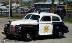 1946-47 Chevy patrol car....