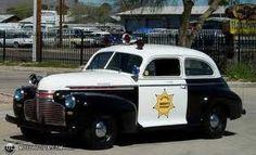 1946-47 Chevy patrol car....
