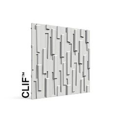 Clif     Cast Rock. Sounds heavy, but it's not! Multiple layers of gypsum with a glass fiber matrix create a strong, flexible, and lightweight panel.