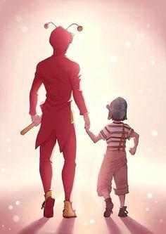 Un niño y un héroe al mismo tiempo