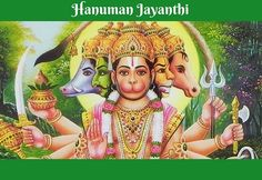 Hanuman Jayanti is the important festival of hindus.Workship lord hanuman to brings in confident and stable mind. Lord Ganesha, Lord Shiva, Hanuman Stories, Hanuman Jayanthi, Planets In The Sky, Festival Information, Navratri Festival, Sita Ram, Picture Frame Art