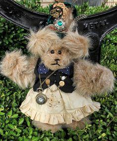 Steampunk Teddy Bears | Wilde & Woolly Bears