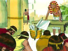 De broers naar Egypte, 13 Bijbelplaten voor het digibord, kleuteridee.nl , Bijbelles voor kleuters.