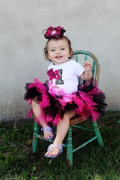 I'm a Barbie girl 1st birthday tutu outfit pink by AMAYABELLA, $44.50