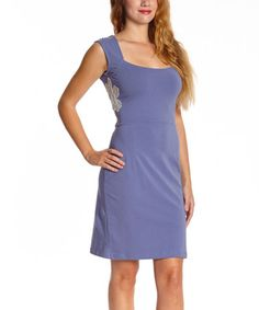 Another great find on #zulily! Cornflower Brielle Organic Dress - Women #zulilyfinds