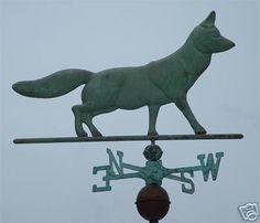 Fox Weather vane