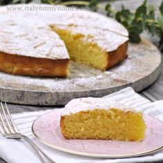 Almond and coconut cake – gluten free