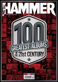 MHR286 100 Greatest Albums cover from 2016 for Metal Hammer Magazine in the UK.