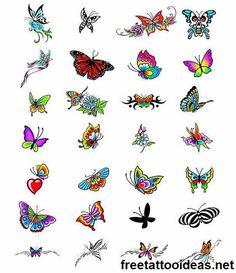 #butterfly tattoo - http://www.freetattooideas.net/butterfly-tattoos/