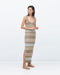 PLEASE help me find this dress! VESTIDO RAYAS CANALÉ-Ver todo-Vestidos-MUJER | ZARA España