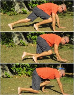 Movement of the Day- Bear Crawl: Embrace that inner grizzly. Starting on the hands and knees, rise up onto the toes, tighten the core, and slowly reach forward with the right arm and right knee, followed by the left side. Continue the crawl for 8-10 reps or a certain distance