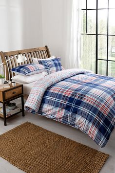 Double Brandon Duvet Set Available in duvet sets (single with 1 pillowcase, double, king size with 2 pillowcases). Flat Ideas, Selling On Pinterest, Witch House, Duvet Sets, King Size, Beautiful Homes, Comforters, Pillow Cases, Household