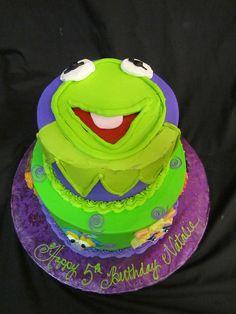 Kermit cake!