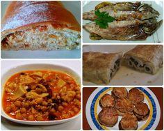 Pimientos rellenos de bacalao y 24 recetas más para crearte un menú a tu gusto