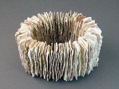 Bracelet   Brittany Isenberg - Vintage Papers, Elastic
