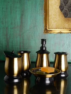 Black And Gold Bathroom Gallery Of The Choosing Attractive Accessories Sets