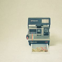 I will have one of these before this summer. And not the lame girly ones you find at Urban Outfitters..an ACTUAL Polaroid camera.