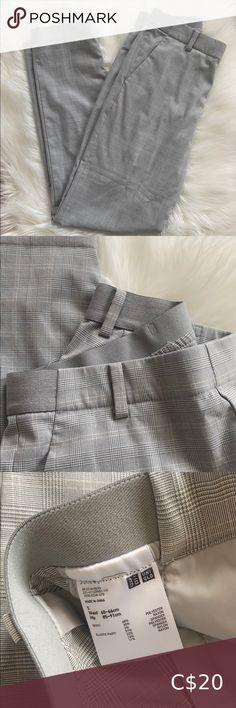 Uniqlo Pants Elastic waist band Waist 60-66cm Hip 85-91 cm Uniqlo Pants & Jumpsuits Pantsuits Black Vest, Pant Jumpsuit, Elastic Waist, Your Style, Gray Color, Pants For Women, Blazer, Closet, Armoire