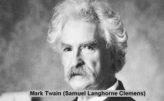 Mark Twain (Samuel Langhorne Clemens)    http://whatisthewik.com/quotes_of/mark-twain/