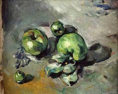 Paul Cézanne - Pommes vertes