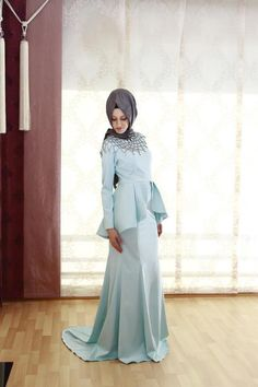 Peplum Hijab outfit ♡