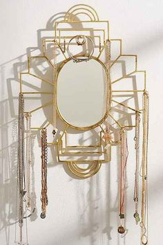 Plum & Bow Jewelry Organizer Mirror from Urban Outfitters. Shop more products from Urban Outfitters on Wanelo. Jewelry Hooks, Bow Jewelry, Jewellery Storage, Jewelry Organization, Jewelry Holder, Jewellery Stand, Jewelry Wall, Cheap Jewelry, Jewellery Display