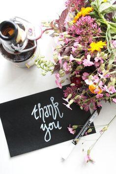 DIY Blumen verpacken (Zu Gast bei TryTryTry) - Rosy & Grey