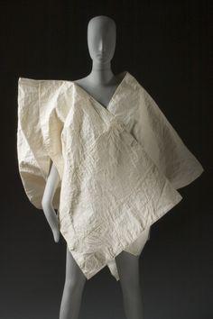 Short Coat Issey Miyake (Japan, born 1938) Japan, 1985 Costumes; principal attire (upper body) Handmade mulberry fiber paper