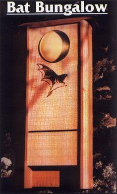 Bat House Bungalow Bat Box