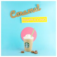 I took the Ode to My Order challenge, and there's nothing like a delicious caramel Frappuccino to sweeten up your day. Which will sweeten up yours? Starbucks Cup Art, Starbucks Secret Menu, Starbucks Recipes, Starbucks Drinks, Starbucks Coffee, Coffee Recipes, Caramel Frappuccino, Starbucks Frappuccino, Colors