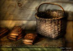 antique basket.BEAUTIFUL REST...