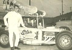 Johnny brazil Jr Sprint Car Racing, Old Race Cars, San Jose Sharks, Vintage California, Vintage Race Car, Dirt Track, Good Ol, Sacramento, Nascar