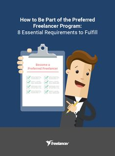 How to Be Part of the Preferred Freelancer Program: 8 Essential Requirements to Fulfill #freelancer #freelancing #freelancertips #onlinejobs #onlinework #freelancer.com