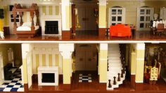Lego Plantation House - Wedding Venue (Interior) | by SEBASTIAN-Z