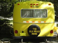 Old Yolks Home 17 ft. boler rear.