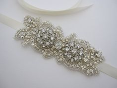 bridal headband pearl, rhinestone headband,wedding headband,bridlal hair accessories,bridal bracelet,wedding belt,bridal sash,wedding sash on Etsy, $75.00