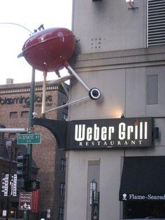 Great steaks, burgers, BBQ  [539 N state st]
