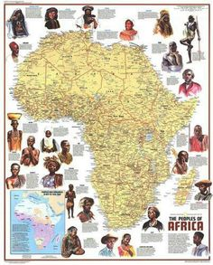 """Ethnolinguistic Map of the Peoples of Africa. Published in Dec 1971 with the article """"The Zulus: Black Nation in a Land of Apartheid,"""" this map is a supplement to the """"Heritage of Africa"""" map printed in the same issue. Black History Facts, Black History Month, Strange History, African Culture, African American History, British History, National Geographic Maps, By Any Means Necessary, Art Africain"""