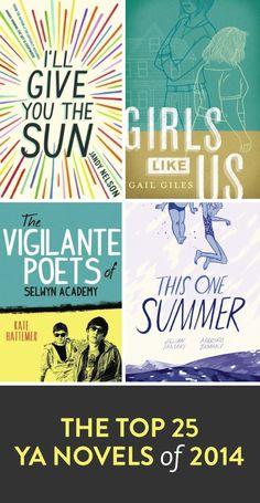 The top 25 YA novels of 2014