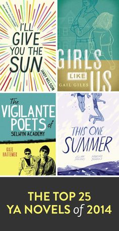 The top 25 YA novels of 2014