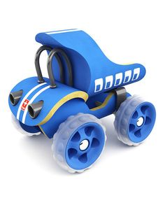 Take a look at this Blue Dump Truck by Hape Toys on #zulily today!