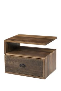 Leroy Right Side End table - Natural