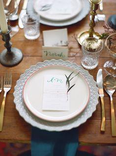 Jewel toned wedding inspiration | photos by Carina Skrobecki | 100 Layer Cake