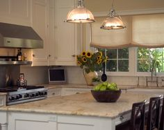 Brown Wood Kitchen Cabinets Quartz Counter Tops Design, Pictures, Remodel, Decor and Ideas