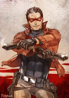 Jason Todd by fish-ghost.deviantart.com on @deviantART