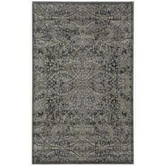 Nourison Graphic Illusions Moasic Grey Rug (2'3 x 3'9)