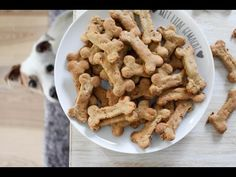 Healthy Dog Treats with Bananas and Carrots - YouTube